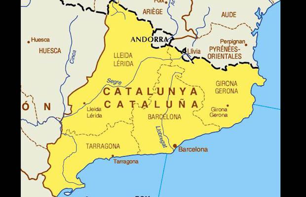 katalonija mapa Radio Velkaton katalonija mapa