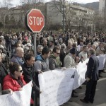 protesti pred vladom fbih danas