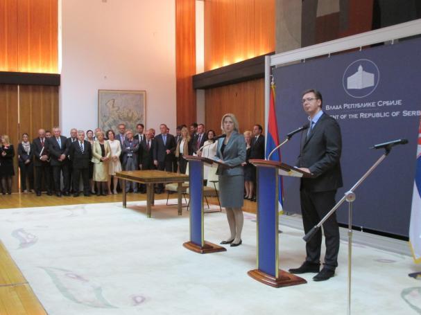 U Beogradu održana zajednička sjednica vlada Srbije i RS-a