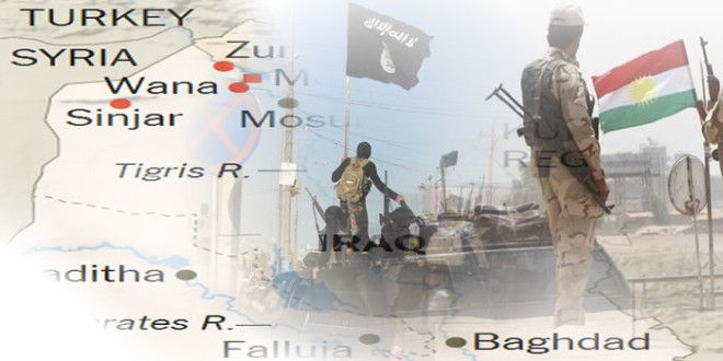 Kurdske snage u Iraku zauzele Zumar